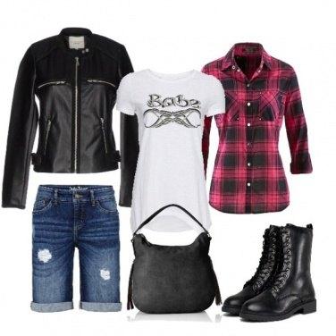 Outfit Anfibi tutta la vita