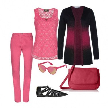 Outfit Fucsia forever