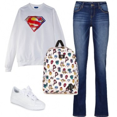 Outfit Lo zainetto