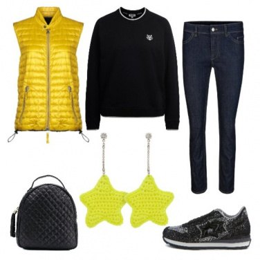 Outfit TSK Yellow Stars