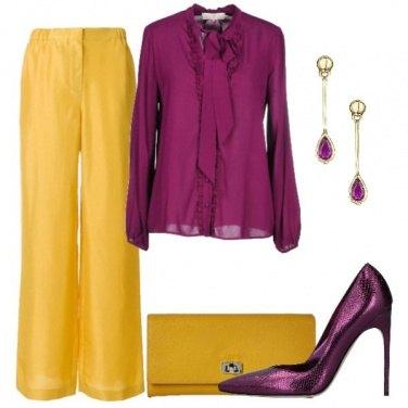 Outfit Se ami il giallo