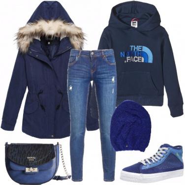 Outfit Urban blu