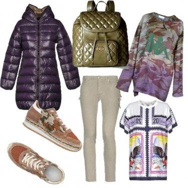 Outfit Mimetic & purple