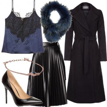 Outfit Al blu e nero non ci avevo pensato