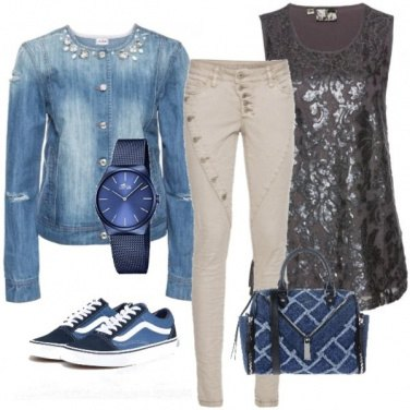 Outfit Giacca di jeans