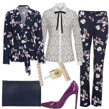Outfit Completo a fiori