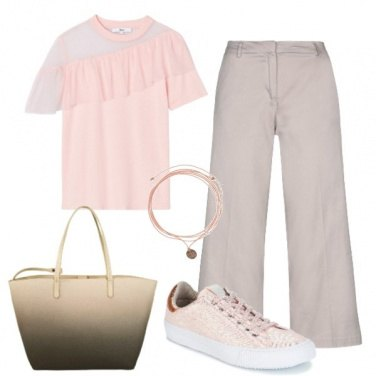 Outfit Pink all\'interrogazione