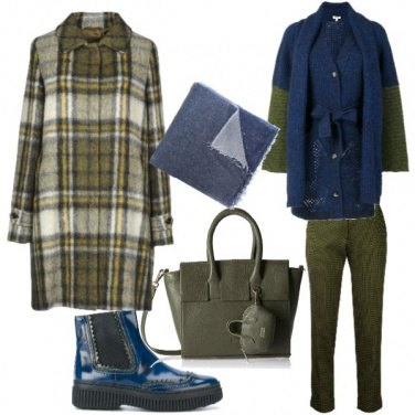 Outfit Verde muschio