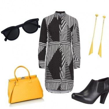 Outfit Optical Yellow
