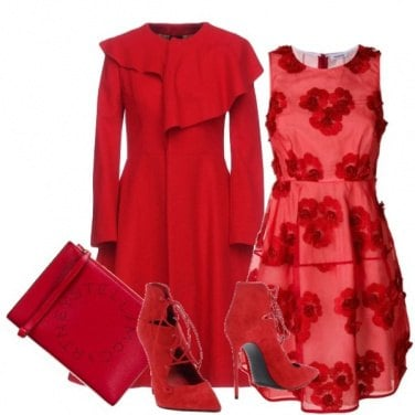 Outfit Totale red