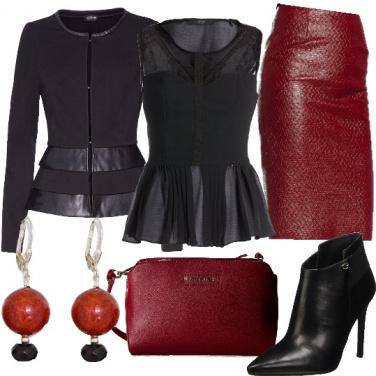 Outfit Rosso e nero, incontro tra protagonisti