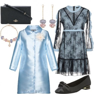 Outfit Nozze a settembre:celestiale