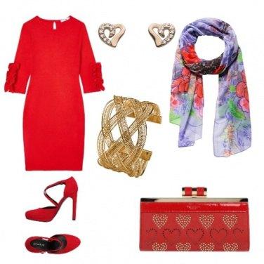 Outfit Passione per il rosso