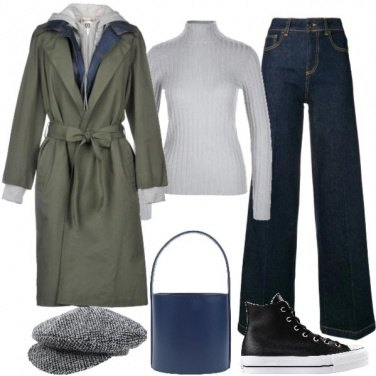 Outfit Il trench inganna