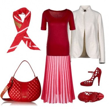 Outfit Sfumature rosse