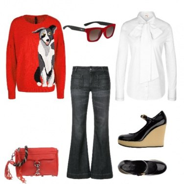 Outfit A spasso con il lupo