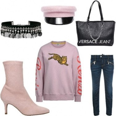 Outfit Style urban kenzo