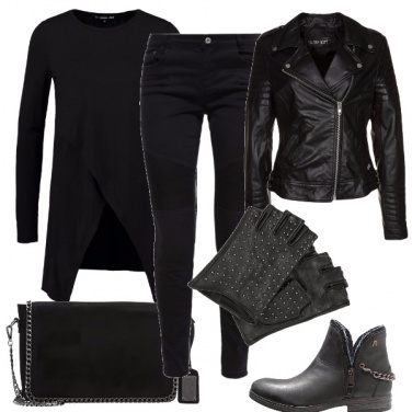 Outfit A tutto rock