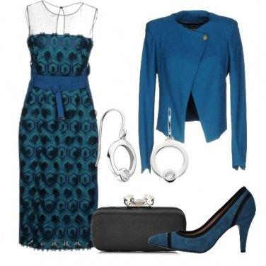 Outfit Un tocco di Quetzal Green