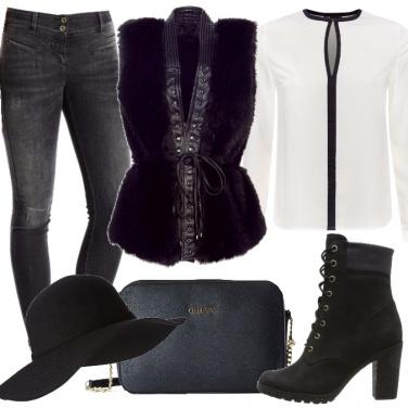 Outfit Gilet alternativo