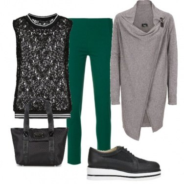 Outfit Pantaloni verdi
