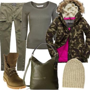 Outfit Melange di colori