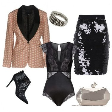 Outfit Glam rock