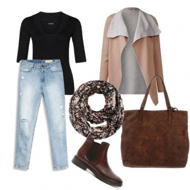 Outfit Casual in autunno