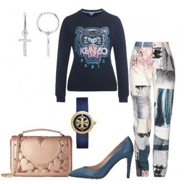 Outfit Un jeans particolare