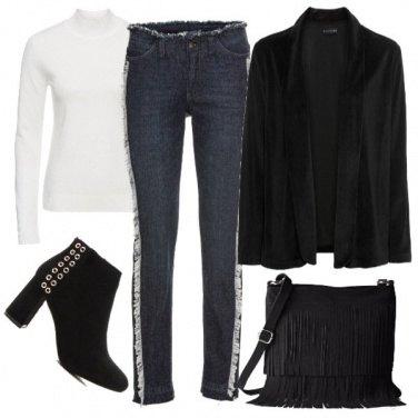 Outfit Jeans particolari
