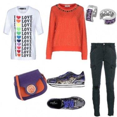 Outfit L\' arancione