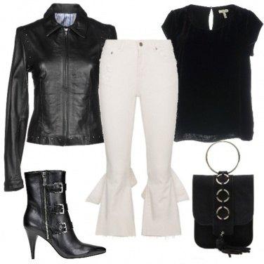 Outfit Jeans particolare