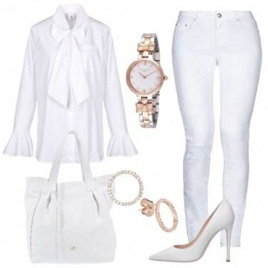 Outfit Splendida in total white