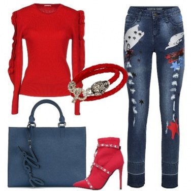 Outfit Jeans fashion