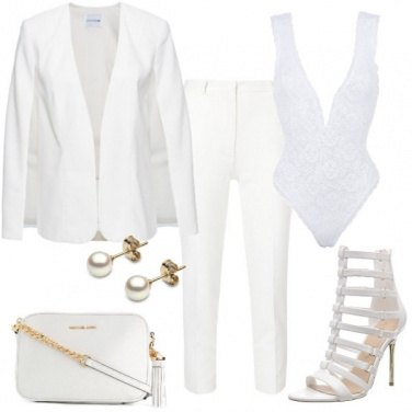 Outfit Completo total white