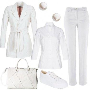 Outfit In bianco per tutti i giorni
