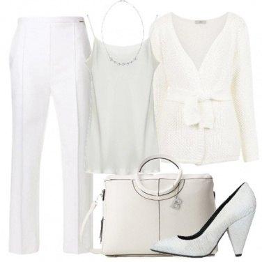 Outfit Il bianco raffinato