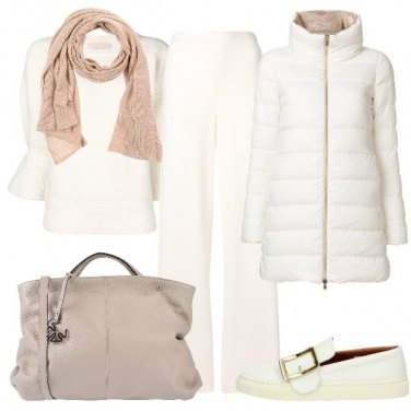 Outfit Bianco protagonista