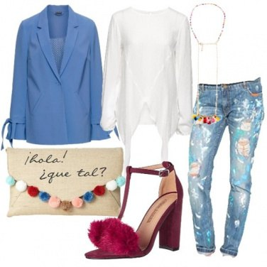 Outfit Jeans informale e giacca formale
