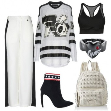 Outfit Urban oversize