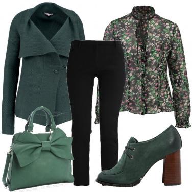 Outfit Oggi vesto di verde