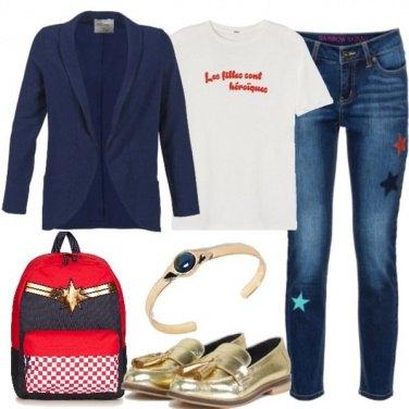 Outfit Un\'eroina tra i banchi di scuola
