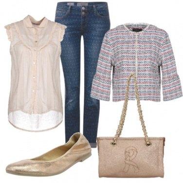 Outfit Bon ton stiloso