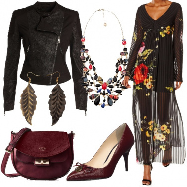 Outfit Pieghe semitrasparenti