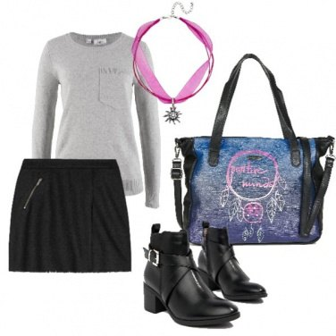 Outfit Basic and glam