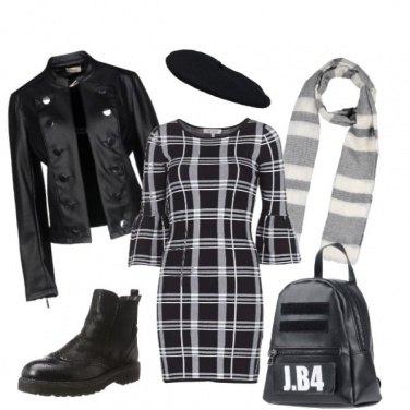 Outfit Romantico b&w