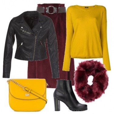 Outfit Autumn Yellow #1
