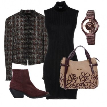 Outfit Stivaletto Bordeaux