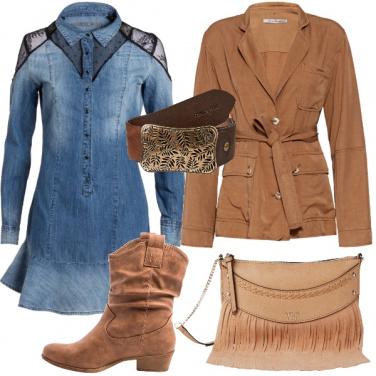 Outfit Jeans per il vestito