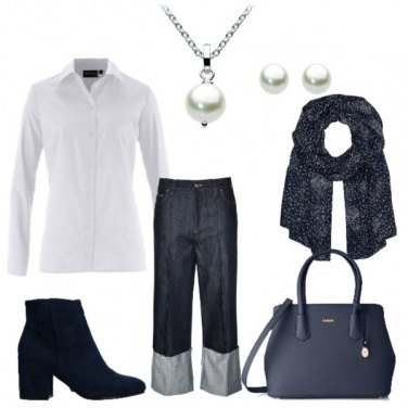 Outfit Perle e jeans